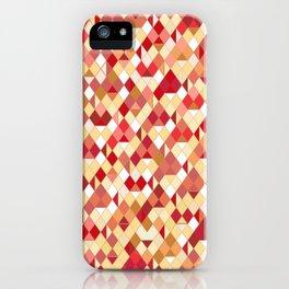 Geometrica 2 (earth tones) iPhone Case