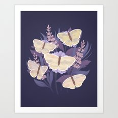 Day Butterflies Art Print