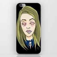 coven iPhone & iPod Skins featuring Blinded For The Coven by Dan Paul Roberts