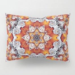 Incandescent Snowflake Pillow Sham