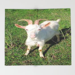 Billy 'The Goat' Throw Blanket