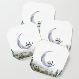 Moon House Coaster