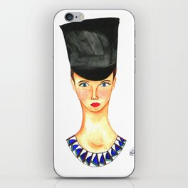 Soldier Girl iPhone Skin