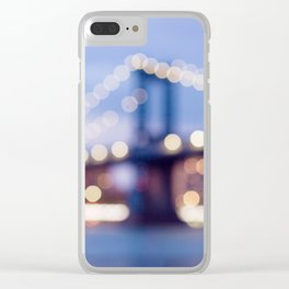 NYC Dream Clear iPhone Case