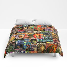 Monsters  |  Collage Comforters