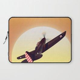 Vintage fighter plane Laptop Sleeve