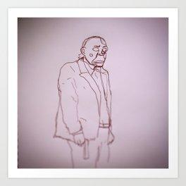 Joker; Bozo Art Print