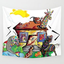 Animal House Wall Tapestry