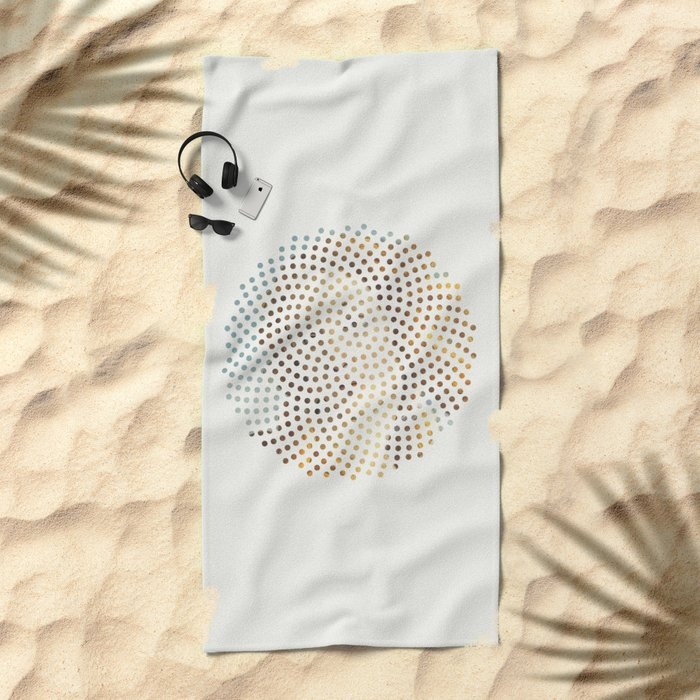 Optical Illusions - famous works of art 2 Beach Towel