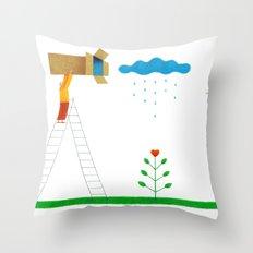 Boxes Throw Pillow