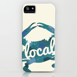 Maryland Blue Crab Local iPhone Case