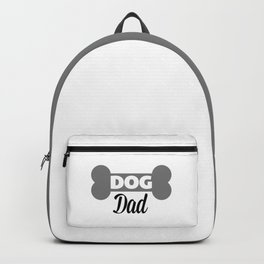 Dog Dad Quote Backpack