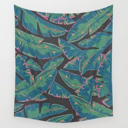 Plantain Tropic Wall Tapestry