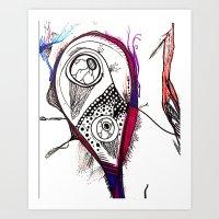 doodles 2 Art Print