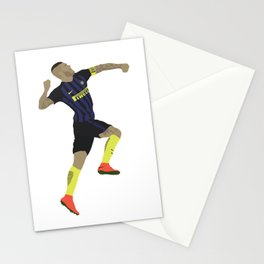 Mauro Icardi Inter Milan Print Stationery Cards