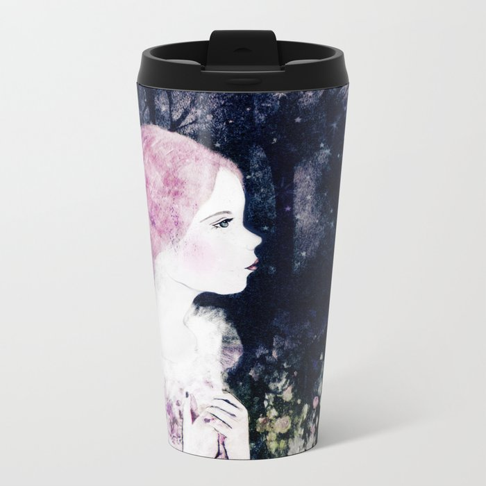 anastasia Metal Travel Mug