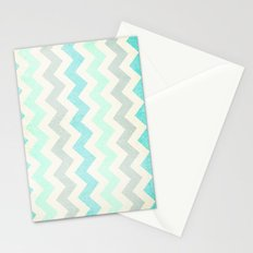 Crazy for Chevron - Vintage Slate Stationery Cards