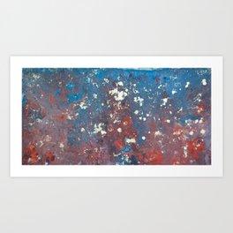 vibrant energy Art Print