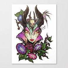 Malefica Glam Canvas Print