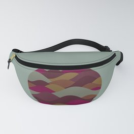 World of Mountains Fanny Pack