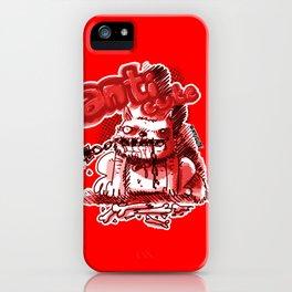 wild dog anticute cartoon style iPhone Case