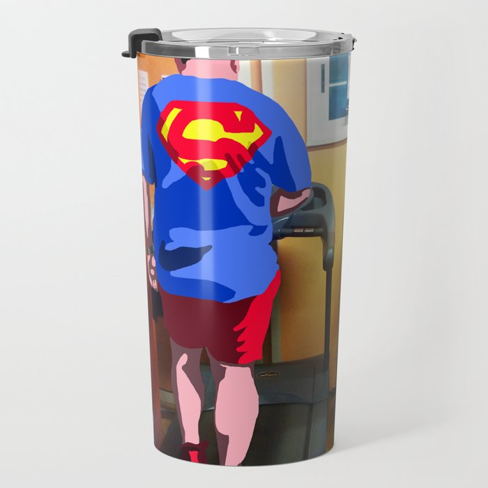 La fabbrica dei supereroi #1 Travel Mug