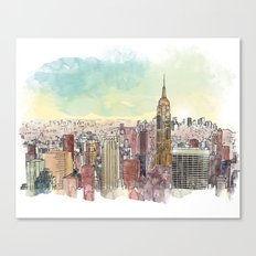 Manhatan Canvas Print