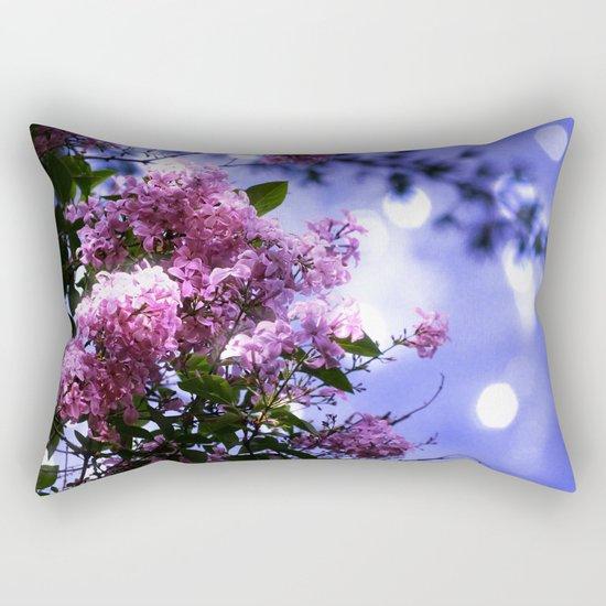 Lilac Sparkle Rectangular Pillow