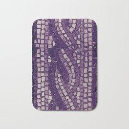 stone tile 4378 ultra violet Bath Mat