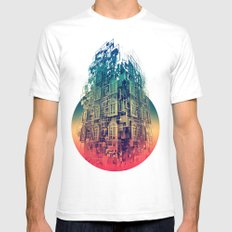 Conception White SMALL Mens Fitted Tee