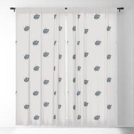 Ladybug (Aqua) Blackout Curtain