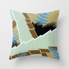AGONDA Art Deco Modern: GENTLEMEN'S CLUB Throw Pillow