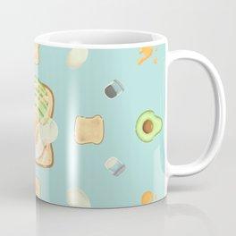 A Toasty & Eggcited Day Coffee Mug