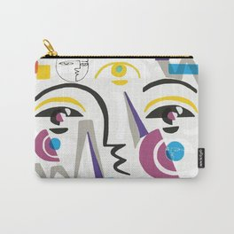 Abstract Portrait - 1 Carry-All Pouch