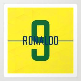 Ronaldo 9 Art Print