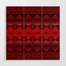 The Lodge (Red) Wood Wall Art
