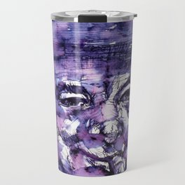 WINSTON CHURCHILL - watercolor portrait.2 Travel Mug