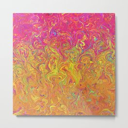 Fluid Colors G262 Metal Print