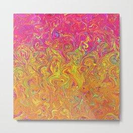 Fluid Colors G262 Metal Print