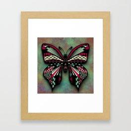 Butterfly Tangle Framed Art Print
