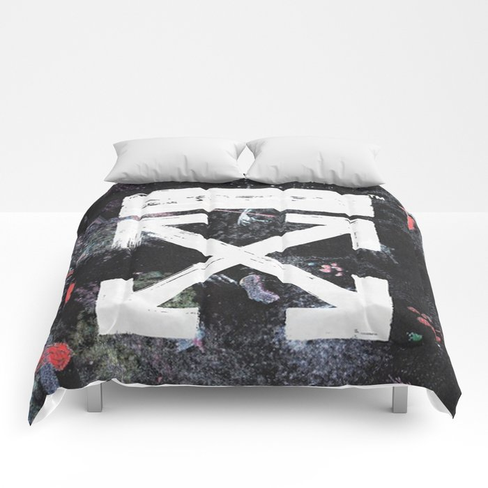Off White Galaxy Brushed Comforters