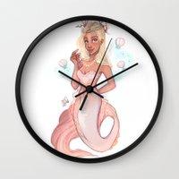 virgo Wall Clocks featuring Virgo by Laia™