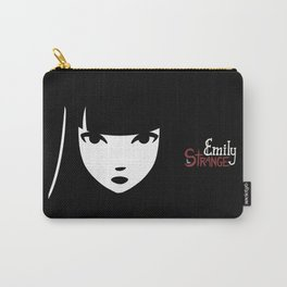 Emily the Strange: Emily's face Carry-All Pouch