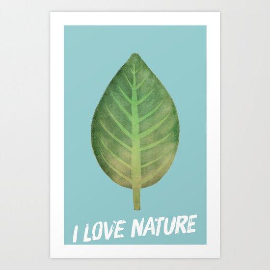 leaf-151 Art Print