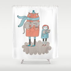Our Cats Shower Curtain