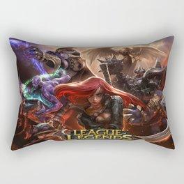 League Katarina Rectangular Pillow
