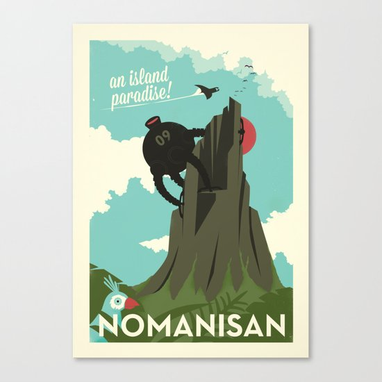 Nomanisan Canvas Print