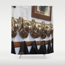 Fire men Shower Curtain