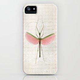 Pink Walking Stick iPhone Case
