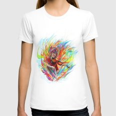 Lindsey Stirling White MEDIUM Womens Fitted Tee